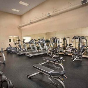 Montgomery Club Apartments fitness center