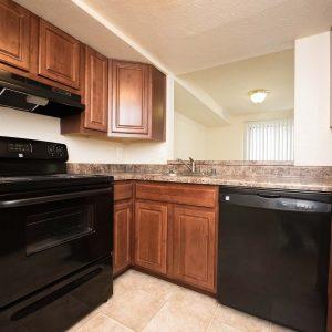 Montgomery Club Apartments kitchen