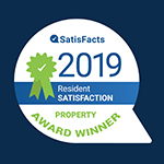 SatisFacts 2019 Resident Satisfaction Award Winner